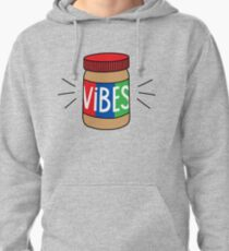 Peanut Butter Vibes Pullover Hoodie