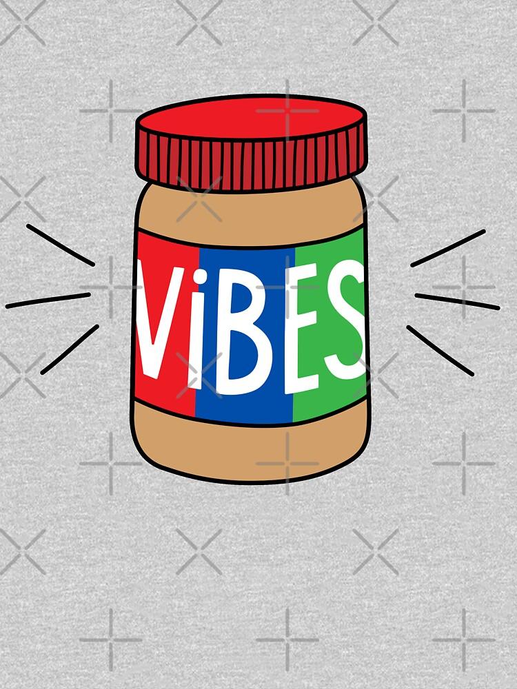 TShirtGifter presents: Peanut Butter Vibes | Unisex T-Shirt