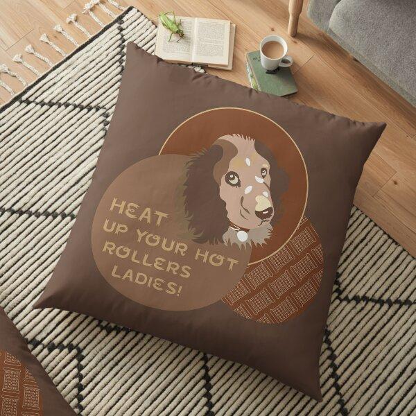 Cocker Spaniel Brown Floor Pillow