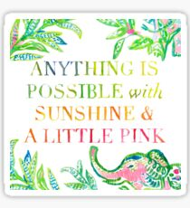 Lilly Quote Sticker