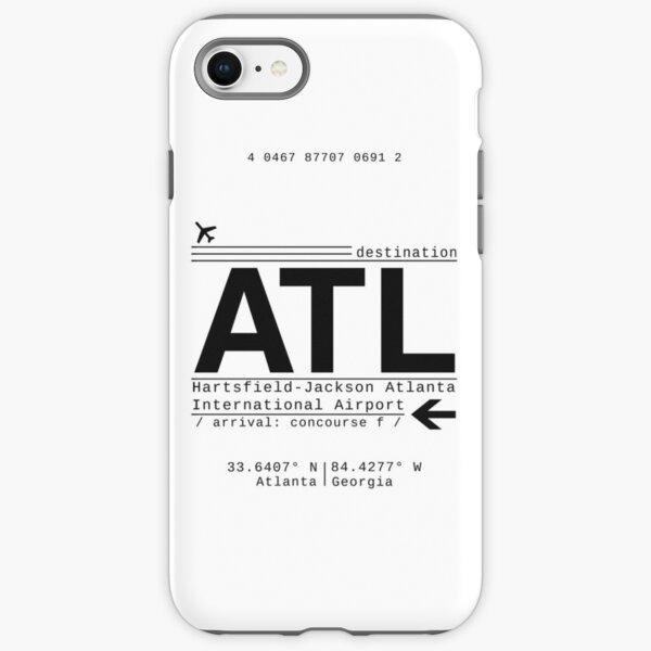 ATL Atlanta International Airport Call Letters iPhone Tough Case