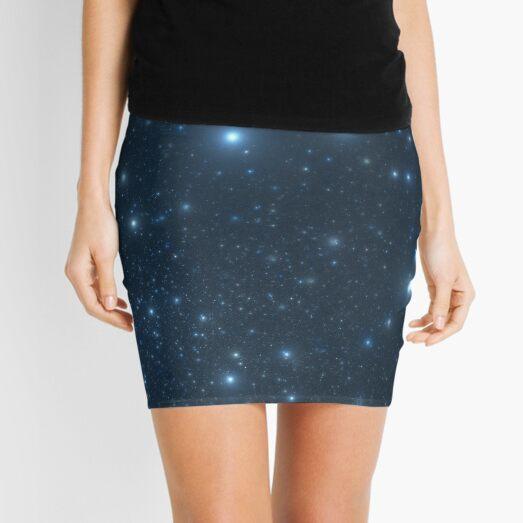 Artificial star field Mini Skirt