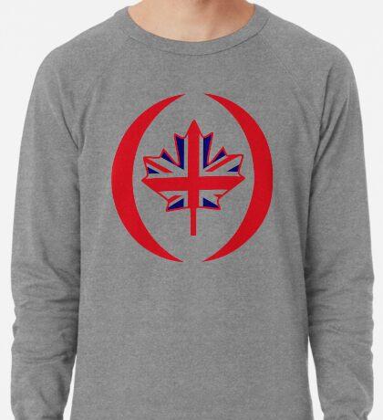 British Canadian Multinational Patriot Flag Series Lightweight Sweatshirt