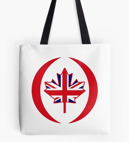 British Canadian Multinational Patriot Flag Series Tote Bag