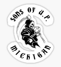 Sons of Upper Peninsula, Michigan Sticker