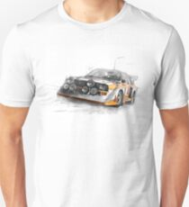 Rally Car Illustration Unisex T-Shirt