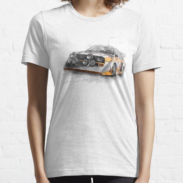 Ilustración del coche de Rally Camiseta esencial