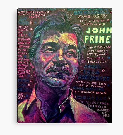 John Prine Canvas Print