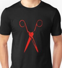 Scissors - red T-Shirt