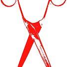 Scissors - red by Bela-Manson