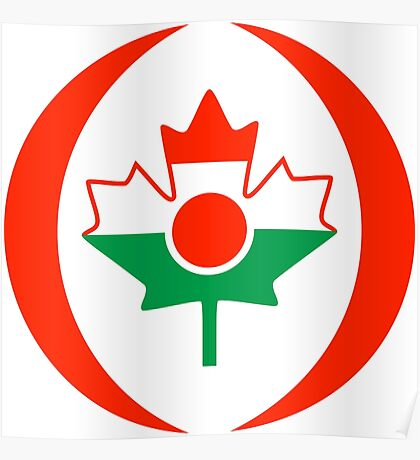 Niger Canadian Multinational Patriot Flag Series Poster