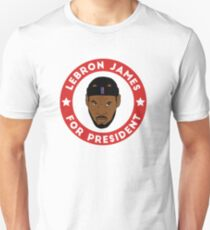 LeBron James For President T-Shirt