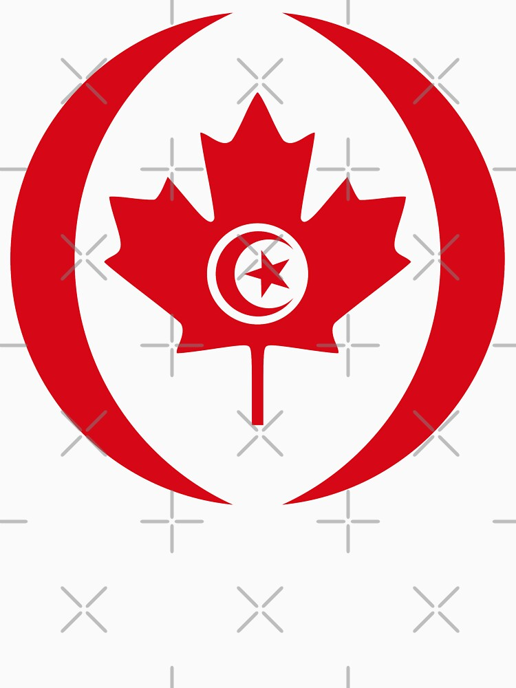 Tunisian Canadian Multinational Patriot Flag Series by carbonfibreme