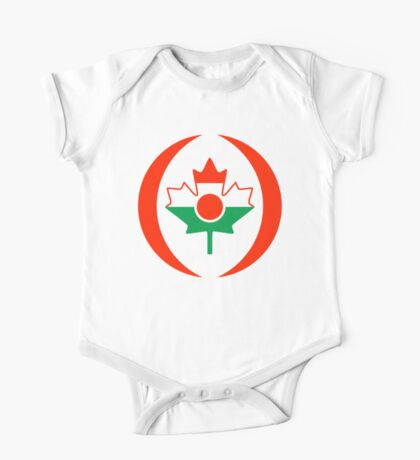 Niger Canadian Multinational Patriot Flag Series Kids Clothes