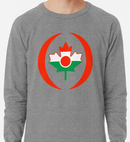 Niger Canadian Multinational Patriot Flag Series Lightweight Sweatshirt