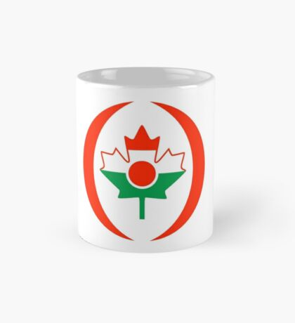Niger Canadian Multinational Patriot Flag Series Mug