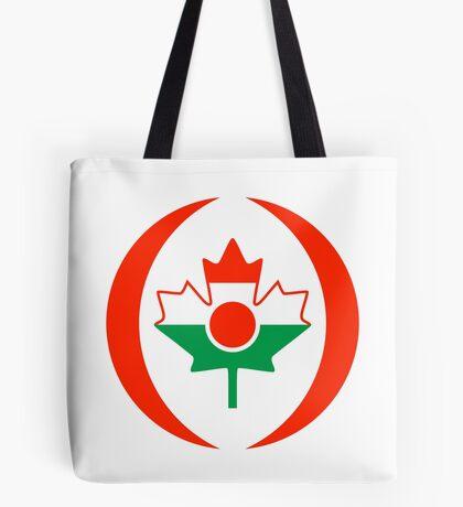 Niger Canadian Multinational Patriot Flag Series Tote Bag