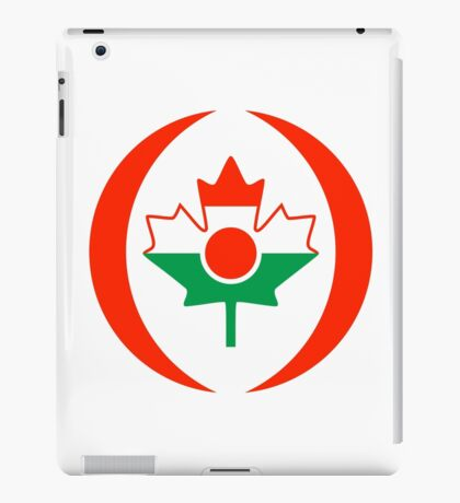 Niger Canadian Multinational Patriot Flag Series iPad Case/Skin