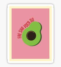 Fre Sha Voca Do Sticker