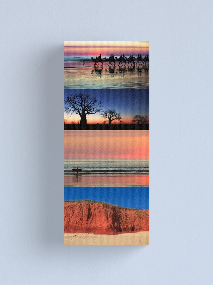 Alternate view of Kimberley dreaming Canvas Print