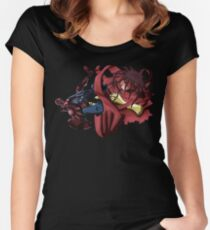 DP meets FF7's Vincent  Women's Fitted Scoop T-Shirt