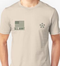General of the Armies US Army Rank Desert by Mision Militar ™ T-Shirt