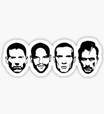 Prison Break- Michael, Sucre, Lincoln & T-bag Sticker