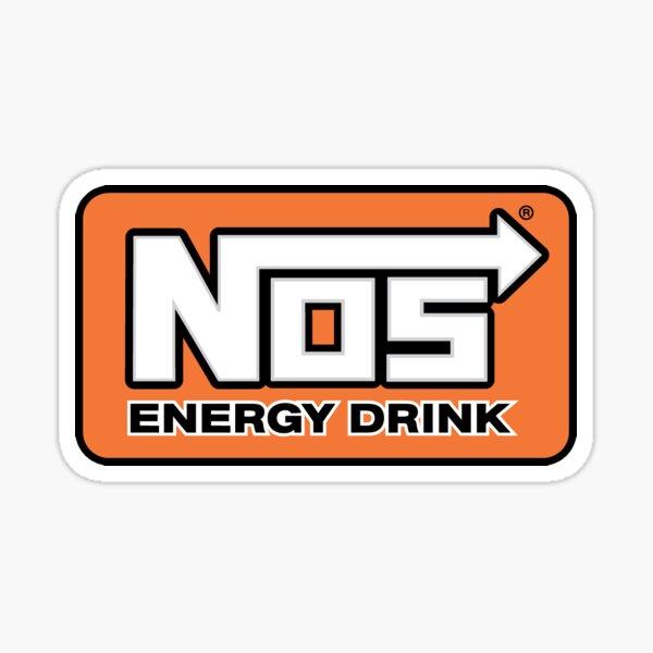 NOS Energy Drink Logo Sticker