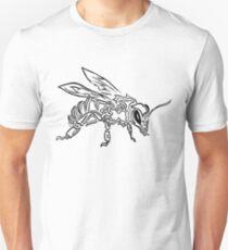 """Bee Spirit"" ver.1 - Surreal abstract tribal bee totem animal T-Shirt"