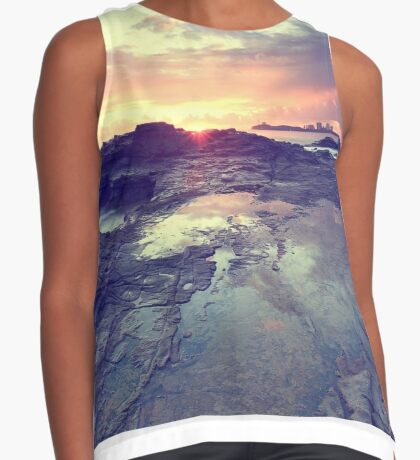 Sunlight is painting Contrast Tank