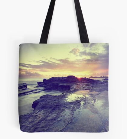 Sunlight is painting Tote Bag