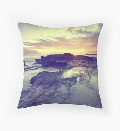 Sunlight is painting Throw Pillow