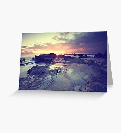 Sunlight is painting Greeting Card
