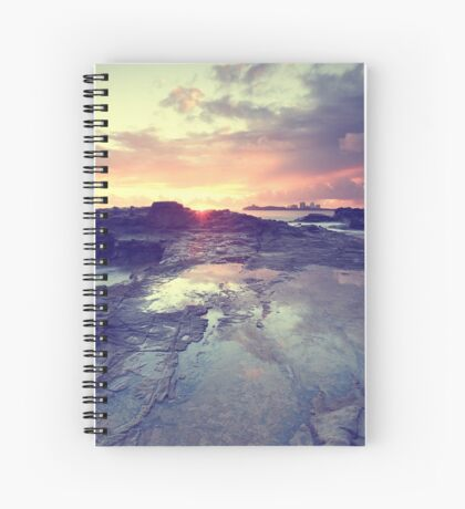 Sunlight is painting Spiral Notebook