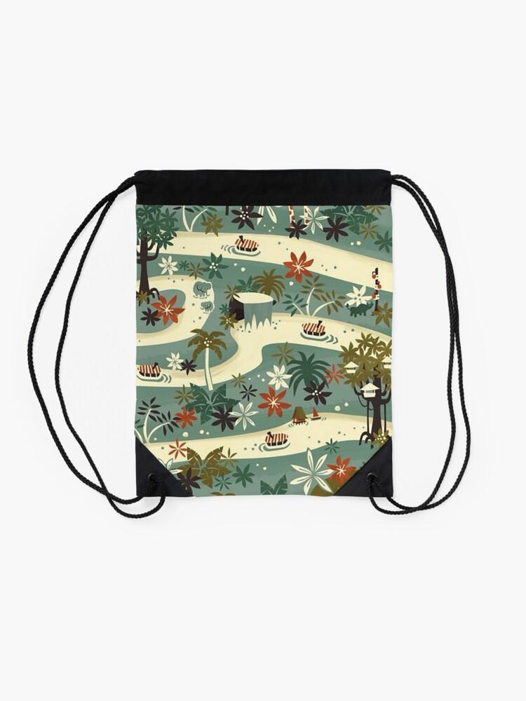 Alternate view of Jungle Cruise Drawstring Bag