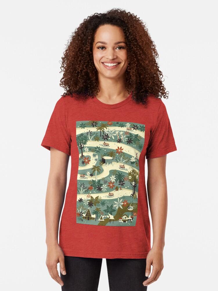 Alternate view of Jungle Cruise Tri-blend T-Shirt