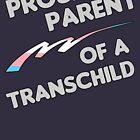 Proud Trans child Parent by thepixelgarden
