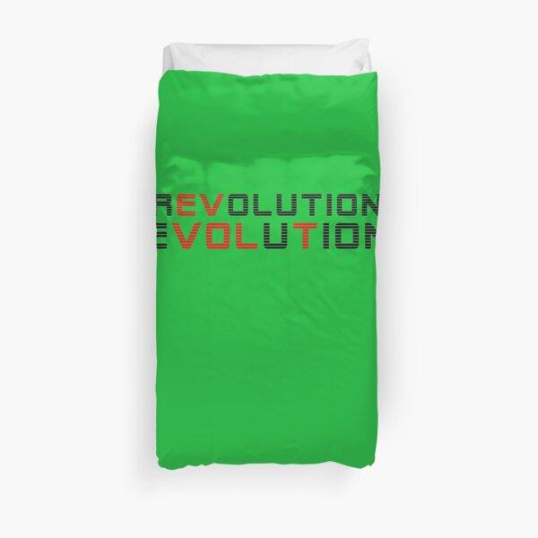 REVOLUTION EVOLUTION Electric Cars. Duvet Cover