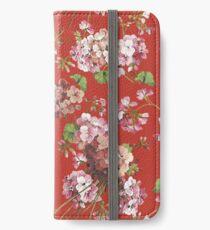 Harry Styles Floral Pattern iPhone Wallet/Case/Skin
