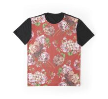 Harry Styles Floral Pattern Graphic T-Shirt