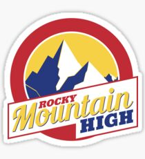 Rocky Mountain High Colorado Sticker