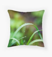 Heavy Drops Throw Pillow