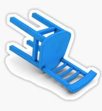 alantutorial - the blue chair Sticker