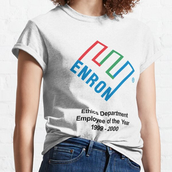 Enron Ethics Department Employee Of The Year Classic T-Shirt