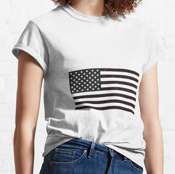 USA Flag Classic T-Shirt