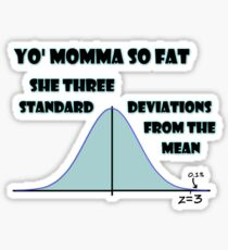 Statistical Diss Sticker