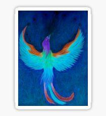 Phoenix to negative Sticker