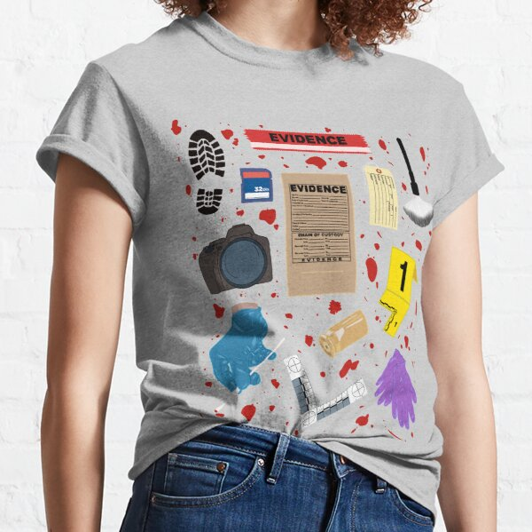 Crime Scene Essentials Classic T-Shirt