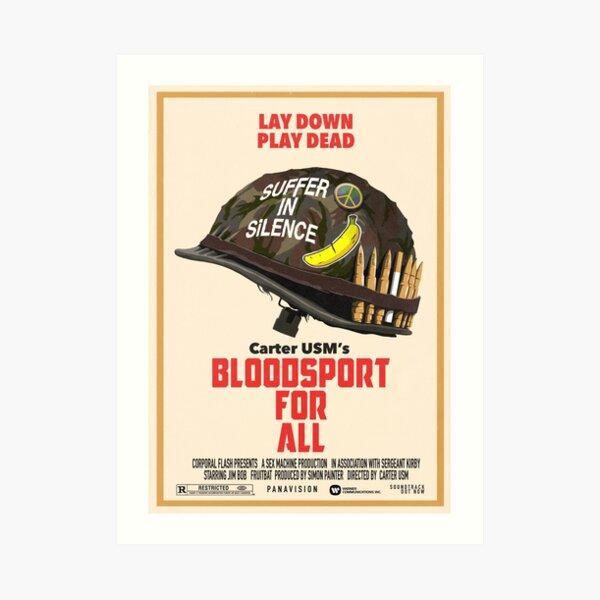 Bloodsport For All Art Print