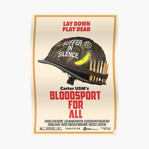 Bloodsport For All Poster